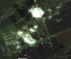 Проезд в Озерки через Чуприяновку к 5 и 6 карте