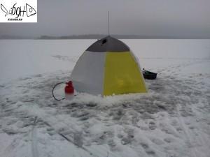озеро Сиг зимой