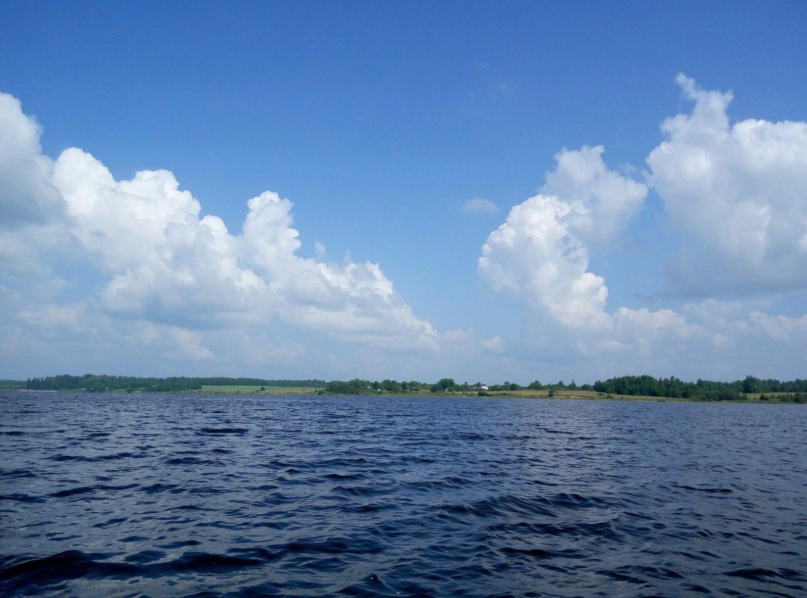 Рыбалка на озере песьво и удомля
