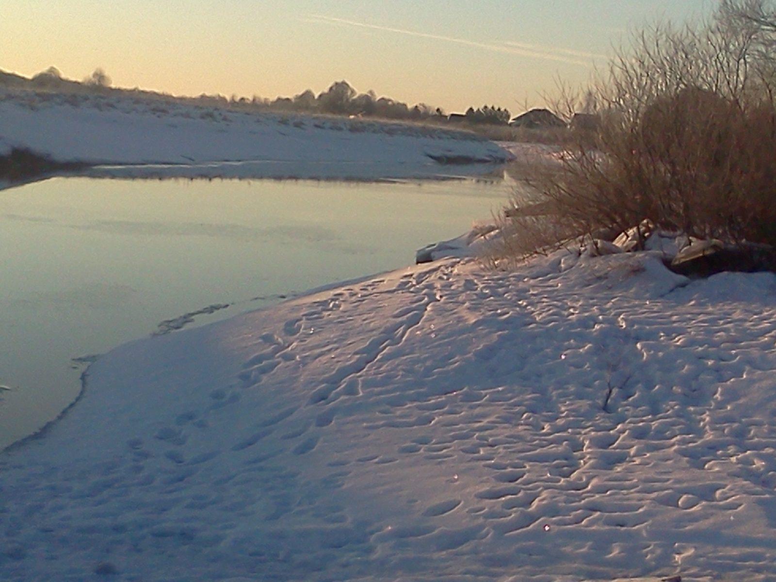 Лёд в Поречье