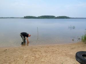 Озеро удомля деревня Ряд рыбалка