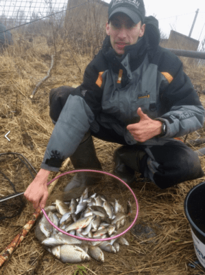 Удомля рыбалка на пикер