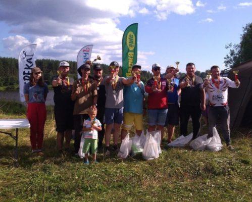 Чемпионат Твери по ловле рыбы донной удочкой